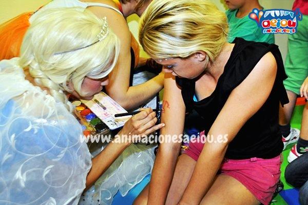 Fiestas Tematicas Infantiles Frozen en Toledo
