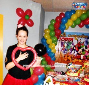 Animadores infantiles fiestas en Madrid