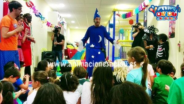 Magos para fiestas infantiles en San Martín de la Vega