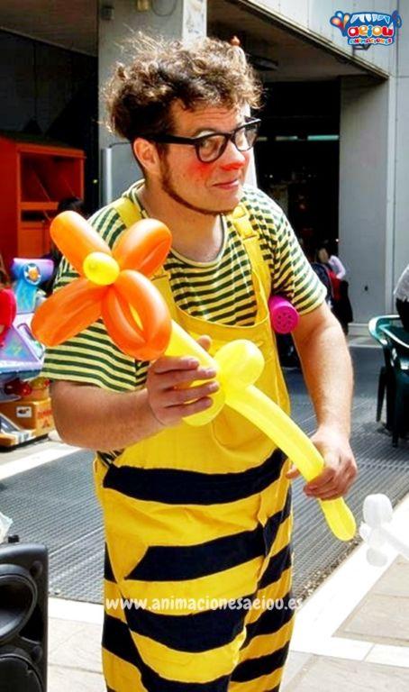 Payasos para fiestas infantiles en Hoyo de Manzanares