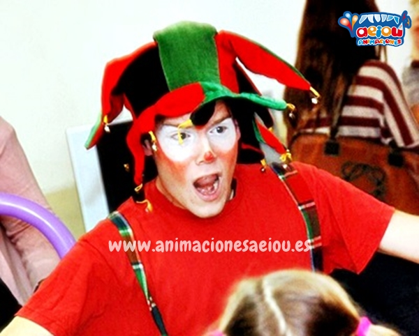Payasos para fiestas infantiles en Guadarrama