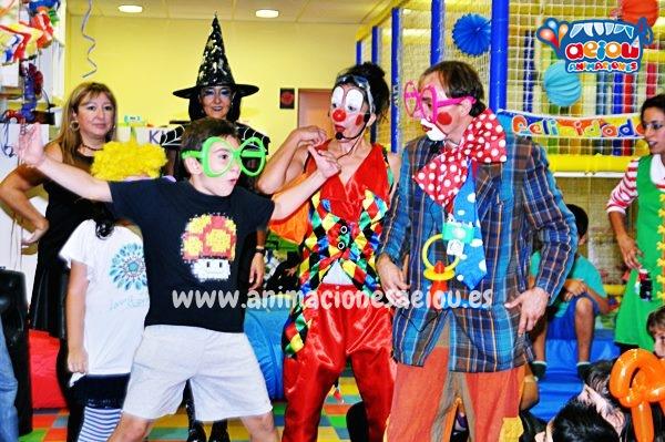 Animadores para fiestas de cumpleaños infantiles en Matalpino
