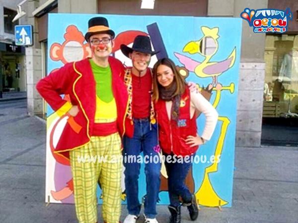 Animadores, magos y payasos en Hoyo de Manzanares