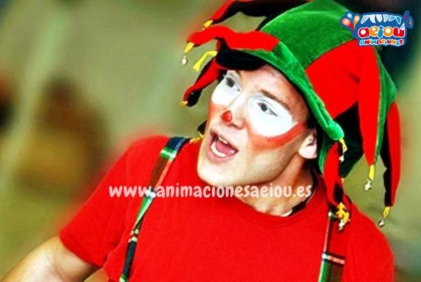 Payasos para fiestas infantiles en Valdemorillo