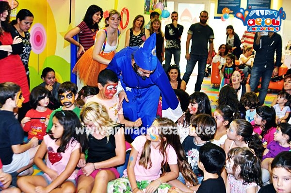 Animadores, magos y payasos en San Ildefonso