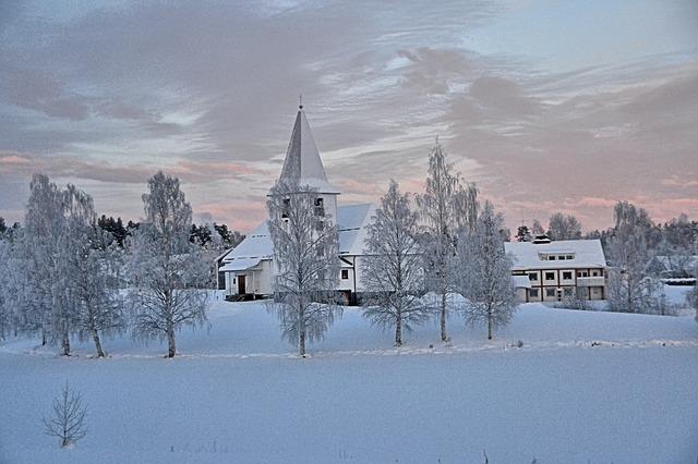 El hogar donde vive Papá Noel