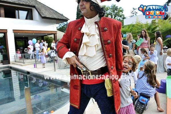 Fiestas temáticas de piratas en Ávila