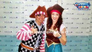 Fiestas temáticas de piratas en Segovia
