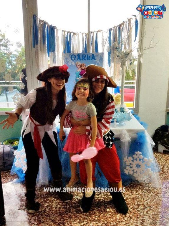 La sonrisa de los niños en las fiestas temáticas de Piratas en Guadalajara