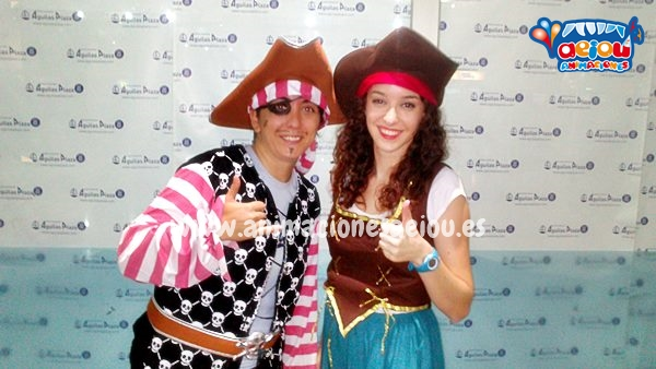 Simular una divertida fiesta de Piratas en Toledo