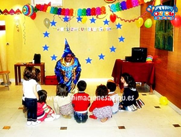 Magos para fiestas infantiles de Tres Cantos