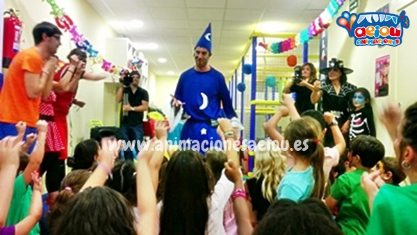 Magos para fiestas infantiles de Torredolones