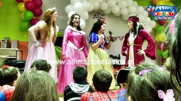 Fiestas de cumpleaños infantiles temáticas de princesas en Ávila