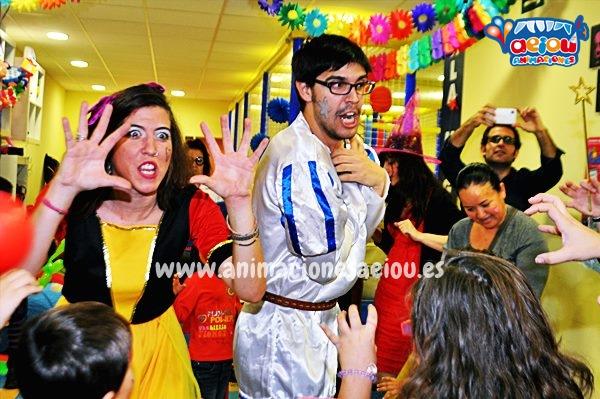 Animadores para fiestas temáticas de princesas en Ávila