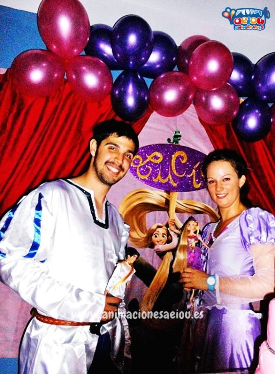 Animadores para fiestas temáticas de princesas en Guadalajara