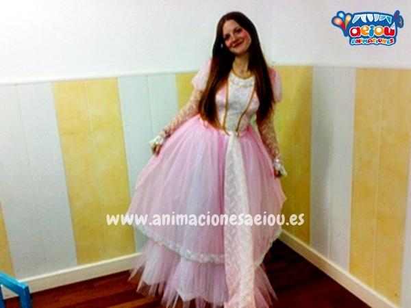 Animadores para fiestas temáticas de princesas en Segovia