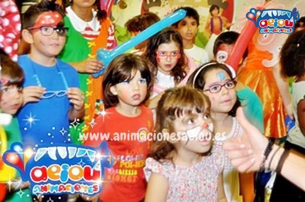 Servicios opcionales de fiestas infantiles de comunión en Madrid