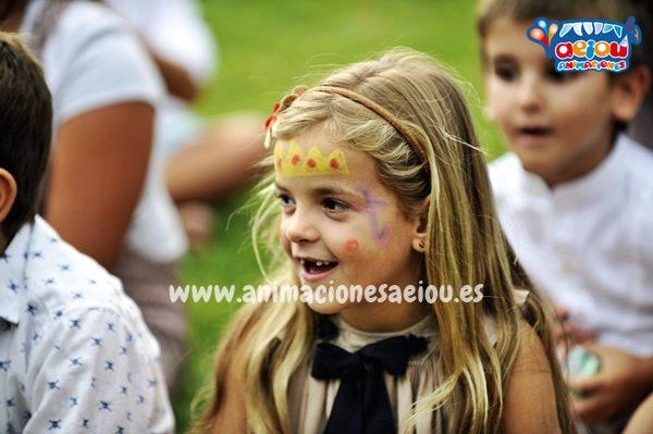 fiestas infantiles de comunión en Madrid