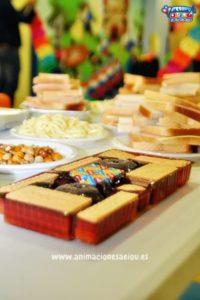 Catering para cumpleaños infantiles en Guadalajara