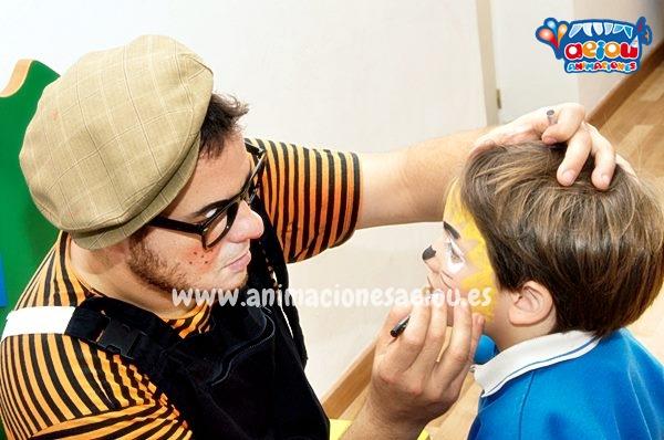 Curso de maquillaje y taller de pintacaras infantil-animador