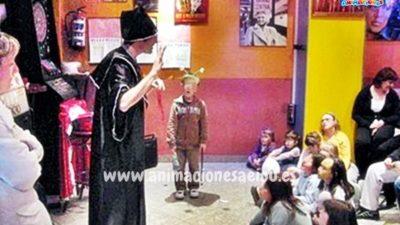 Curso de magia infantil, taller de iniciación y perfeccionamiento