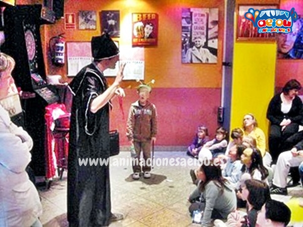 Curso de magia infantil Madrid