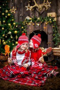Organiza tu fiesta de Navidad en el Colegio-niños