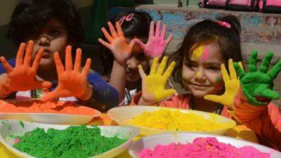 Polvos de colores para tus fiestas infantiles