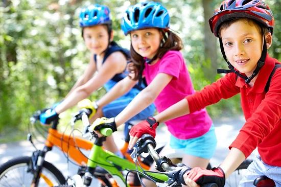 Planes gratuitos con niños en Madrid-bicicletas