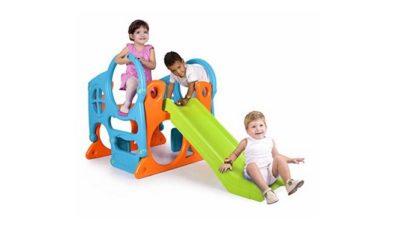 Los toboganes infantiles para la diversión de los niños
